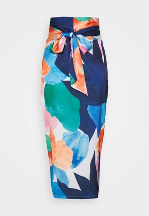 ARTIST PRINT JASPRE SKIRT - Pencil skirt - blue/multi