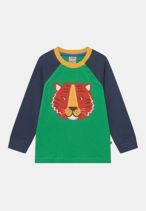 JAKE APPLIQUE TIGER - Long sleeved top - glen green