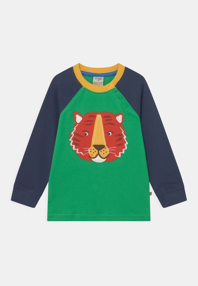 JAKE APPLIQUE TIGER - Longsleeve - glen green