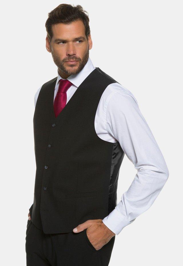 Anzugweste - schwarz