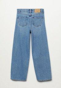 Mango - WIDE  - Flared Jeans - bleu moyen - 1