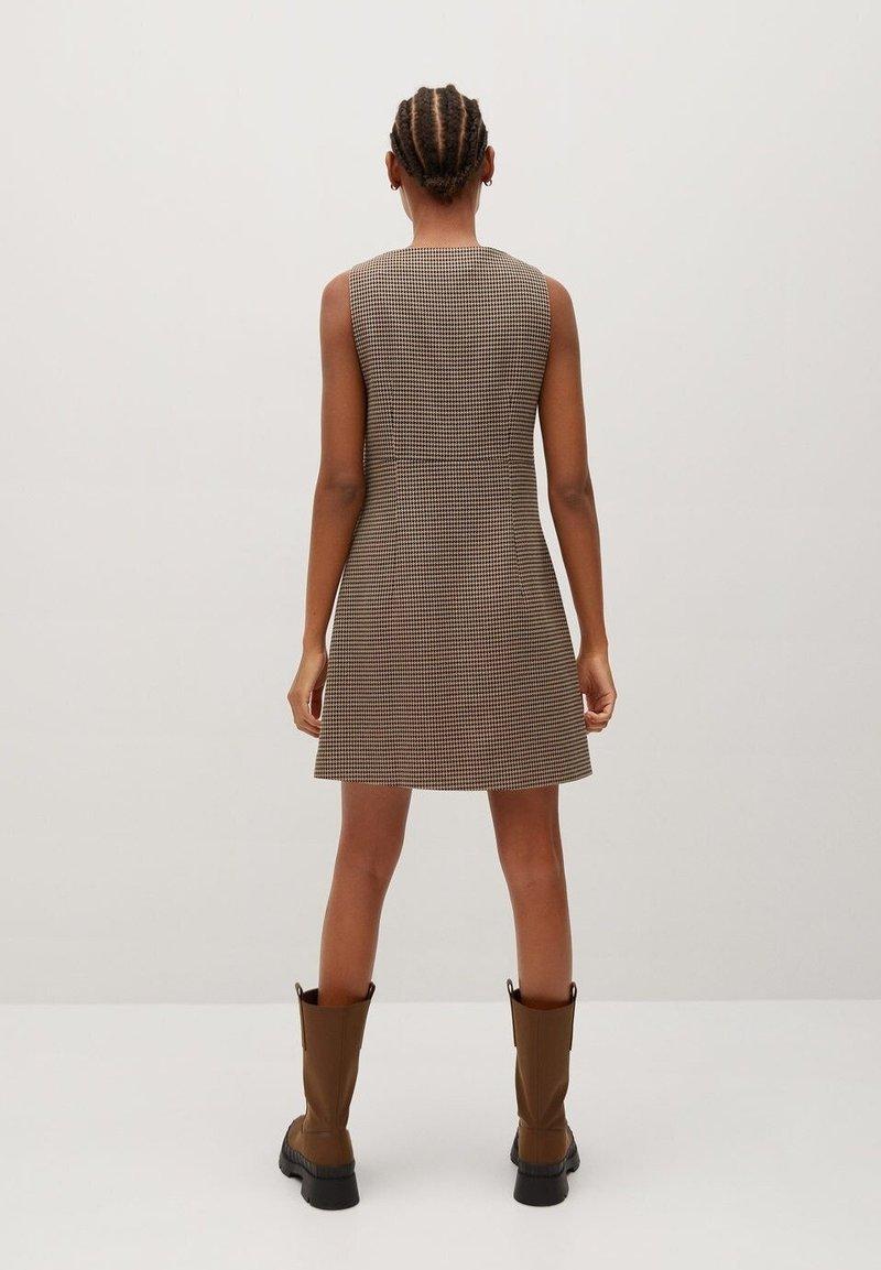 Mango - LOLITA - Day dress - marron moyen