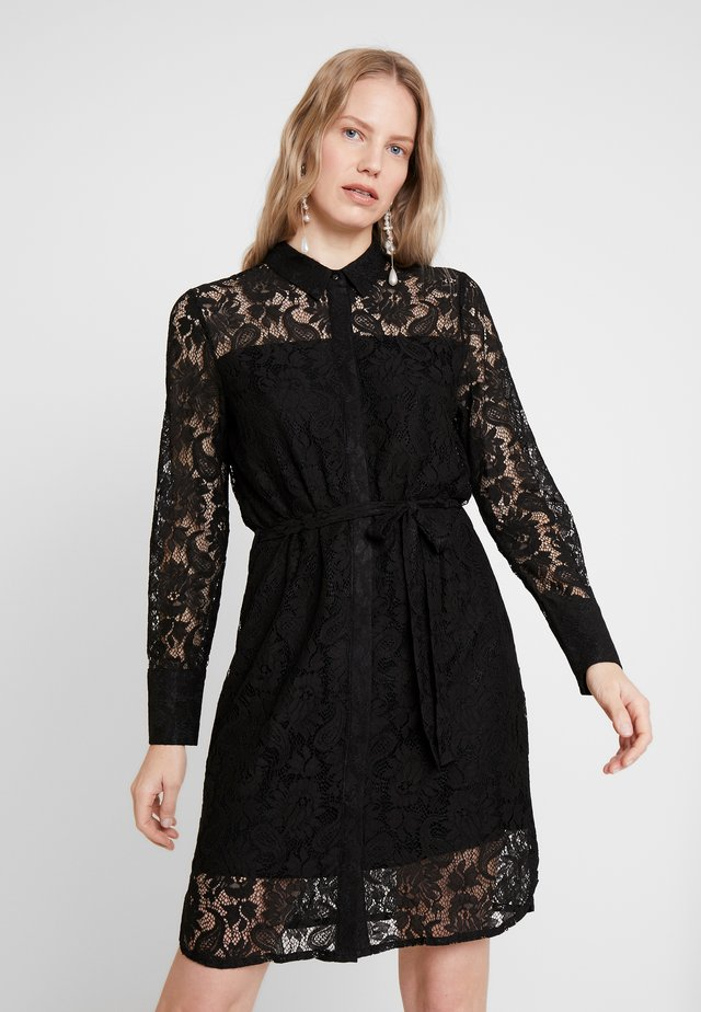 LADINA - Vestido camisero - black