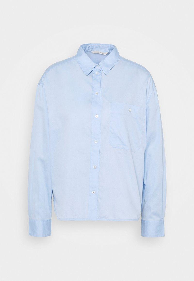 Marc O'Polo - BLOUSE LONG SLEEVE KENT COLLAR - Blouse - light blue