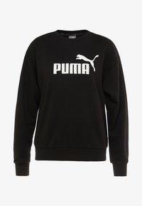 Puma - LOGO CREW  - Sweater - black - 4