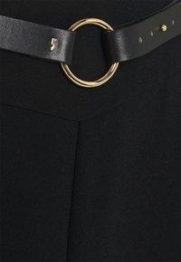 comma - Áčková sukně - black - 2