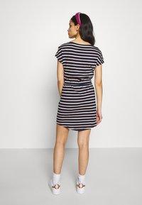 ONLY Petite - ONLMAY LIFE DRESS 2 PACK - Jersey dress - night sky/multi misty - 2