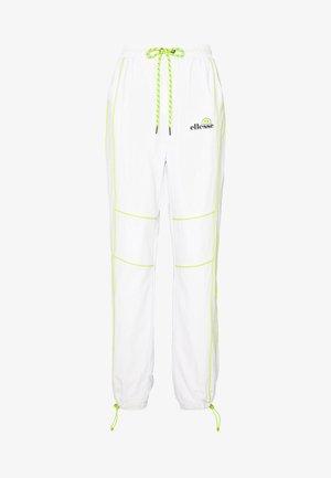 DELLA X  - Pantalones deportivos - white