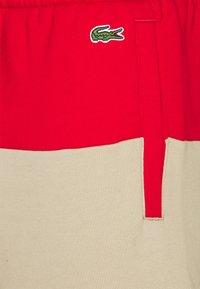 Lacoste - Shorts - rouge/viennois/marine - 2