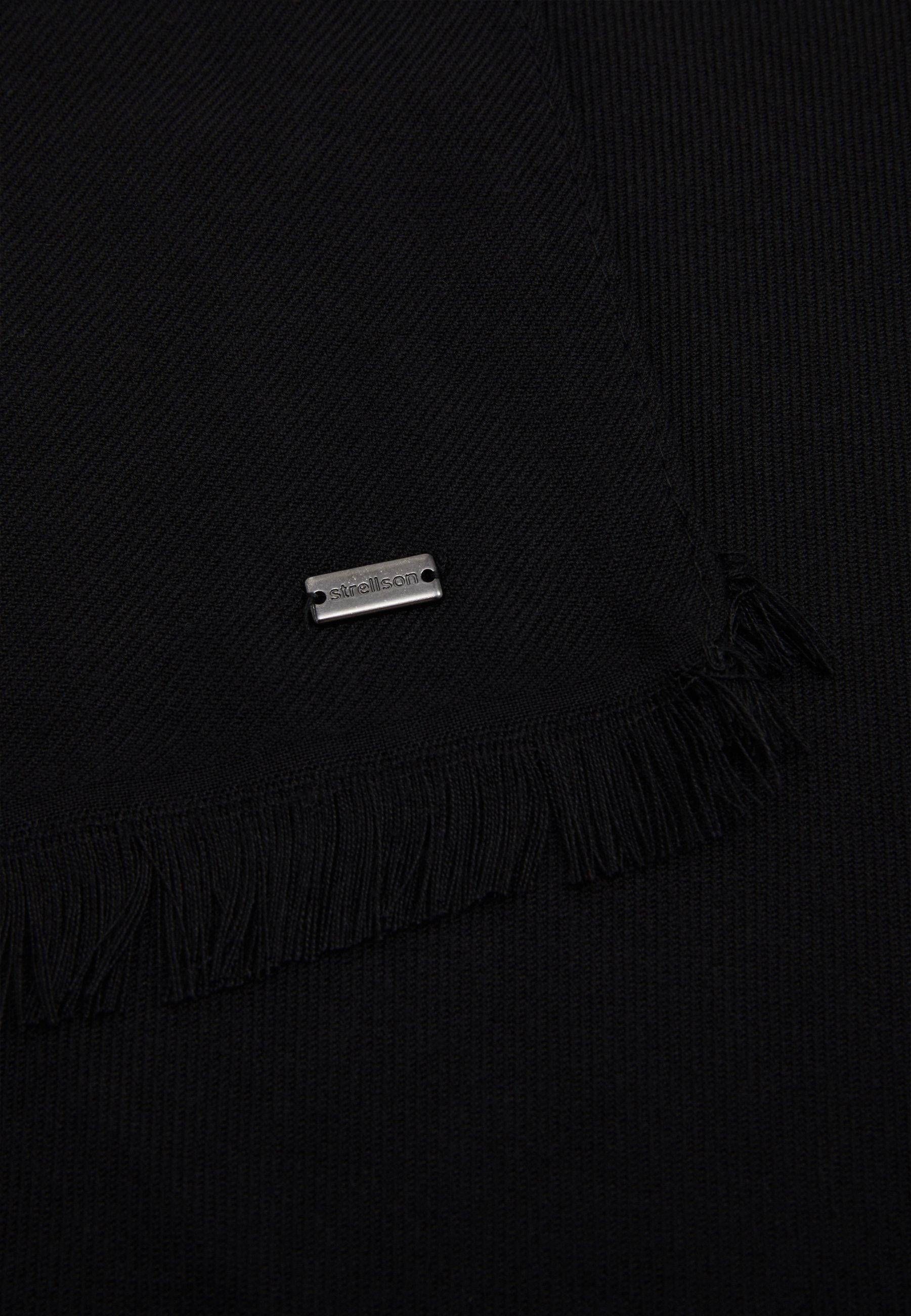 Strellson DORIAN SCARF - Schal - black/schwarz - Herrenaccessoires mGyqH