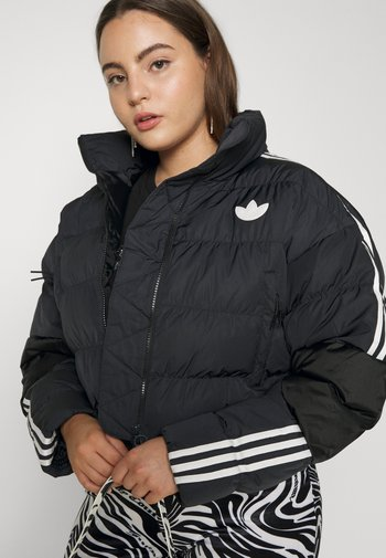 SHORT PUFFER - Winter jacket - black