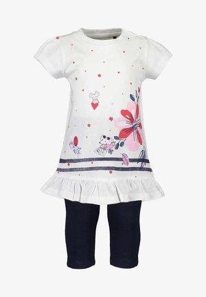 LIFE IS FLOWERFUL - Print T-shirt - white