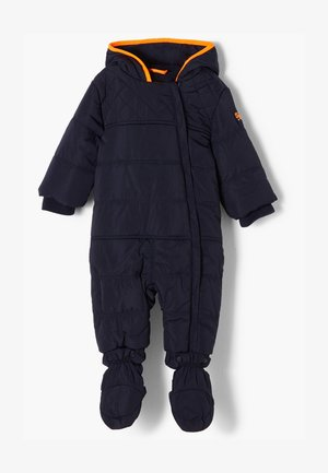 MIT FLEECEFUTTER - Jumpsuit - dark blue