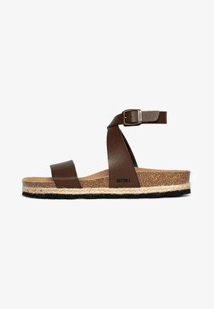 KARRATHA - Sandals - brown