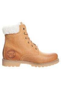 Panama Jack - IGLOO - Lace-up ankle boots - cognac - 3
