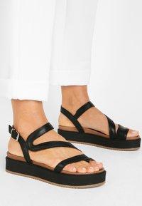 Inuovo - Platform sandals - black blk - 0