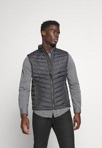 TOM TAILOR - Waistcoat - grey melange design - 0