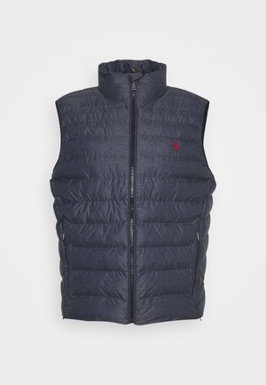 TERRA VEST - Weste - navy heath