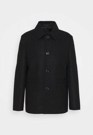 AUCKLAND COAT - Klassinen takki - black
