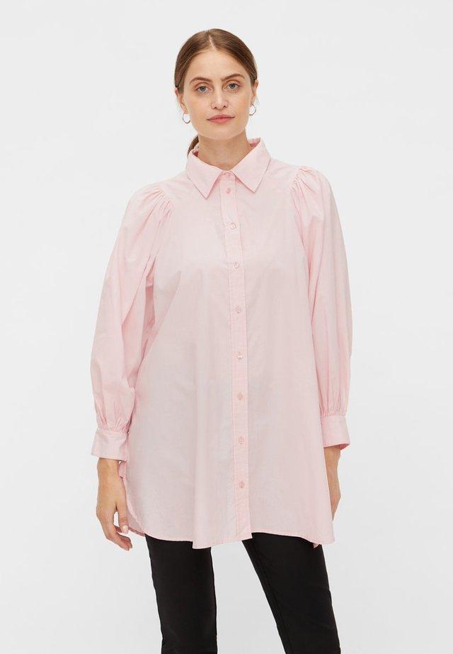 YASGEETA - Button-down blouse - candy pink