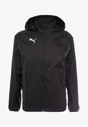 LIGA RAIN CORE - Hardshell jacket - black/white