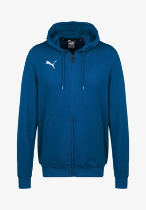 TEAMGOAL 23 CASUALS TRAININGSJACKE HERREN - Zip-up hoodie - electric blue lemonade