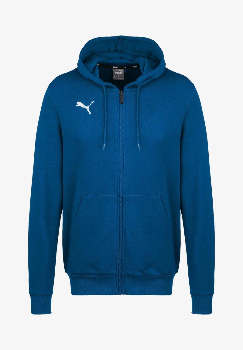 Puma - TEAMGOAL 23 CASUALS TRAININGSJACKE HERREN - Zip-up hoodie - electric blue lemonade
