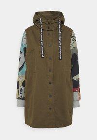 MICKEY - Short coat - green