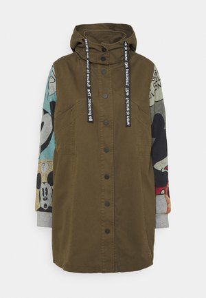 MICKEY - Short coat - green