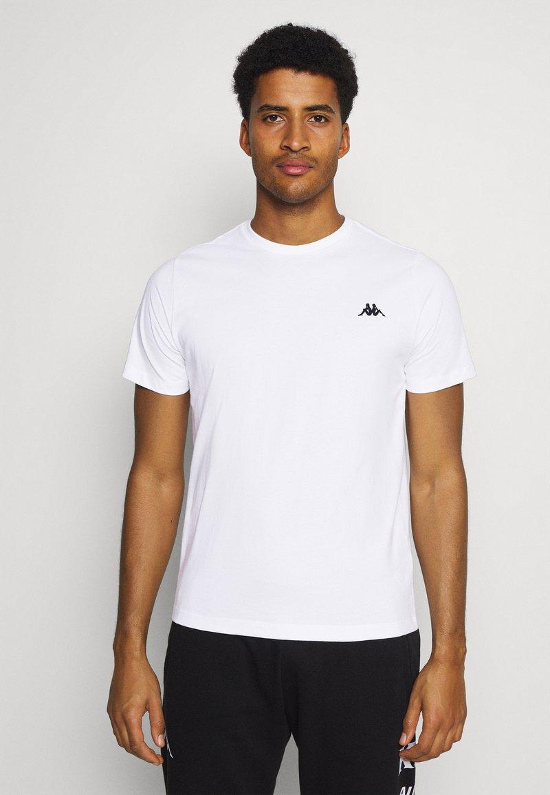 Kappa - ILJAMOR - Camiseta básica - bright white