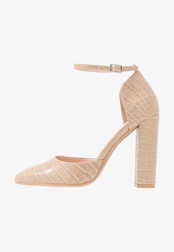 MAHI - Høye hæler - nude