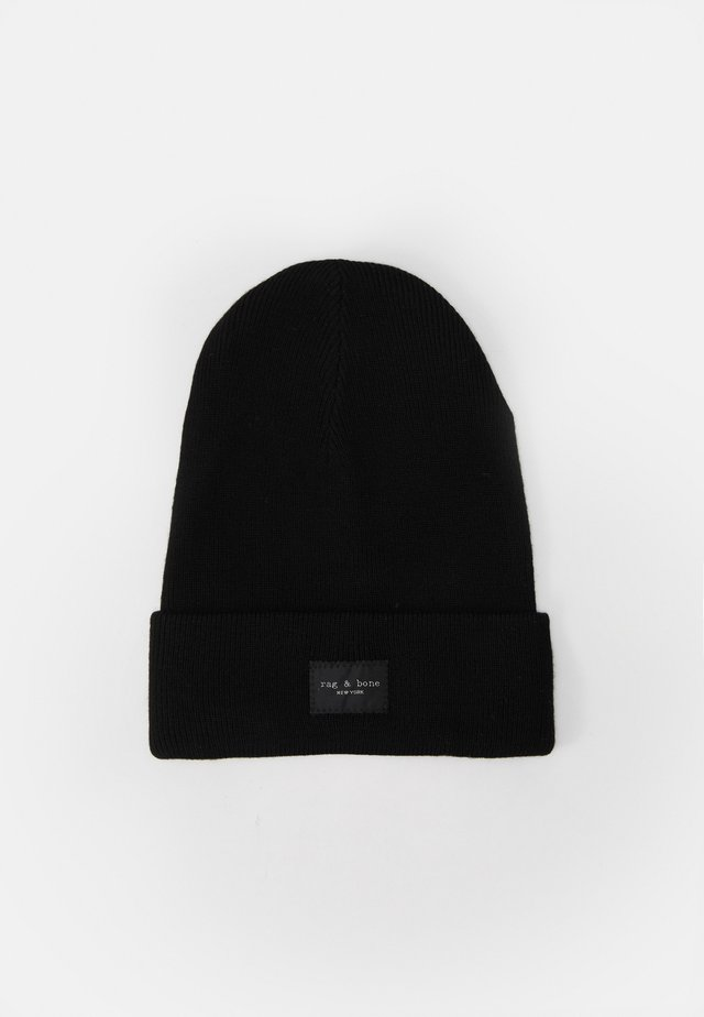 ADDISON BEANIE UNISEX - Bonnet - black