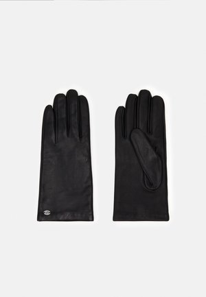 LEATHER - Fingervantar - black