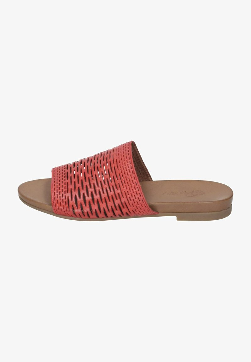 Piazza - Slippers - rot