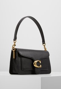 Coach - TABBY POLISHED SMALL FLAP BAG HANDBAG - Bolso de mano - black - 3