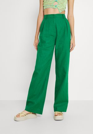 EYES PANT - Trousers - emerald