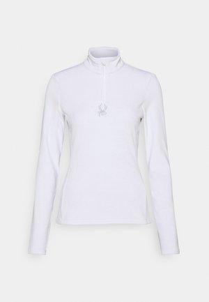 SHIMMER BUG - Fleecepullover - white