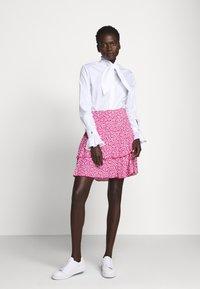 Diane von Furstenberg - MARGAUX - Áčková sukně - pink - 1