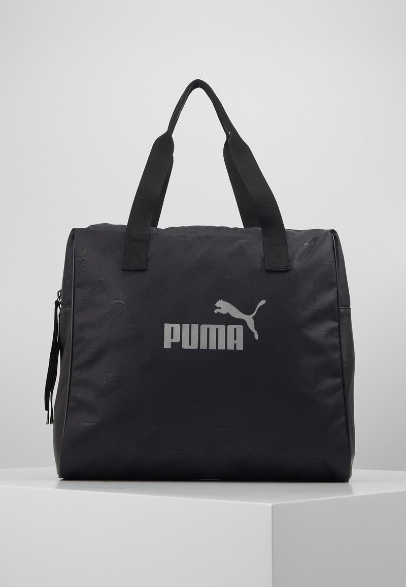 Puma - CORE UP LARGE SHOPPER - Shoppingveske - black