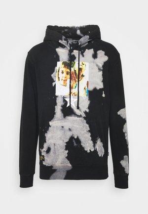 CHERUB ROCK HOODIE - Sweatshirt - black/white
