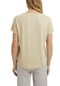 Esprit - PER COO CLOUDY - Basic T-shirt - sand - 9