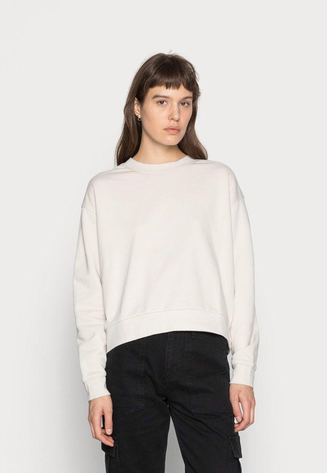 HUGE CROPPED - Bluza - beige