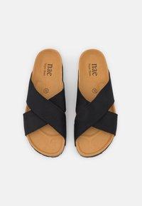 NAE Vegan Shoes - BALI VEGAN - Mules - black - 5