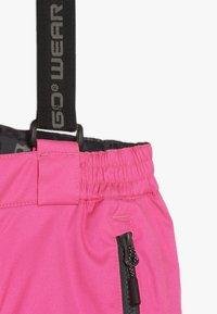 LEGO Wear - PLATON 725 SKI PANTS - Zimní kalhoty - dark pink - 3