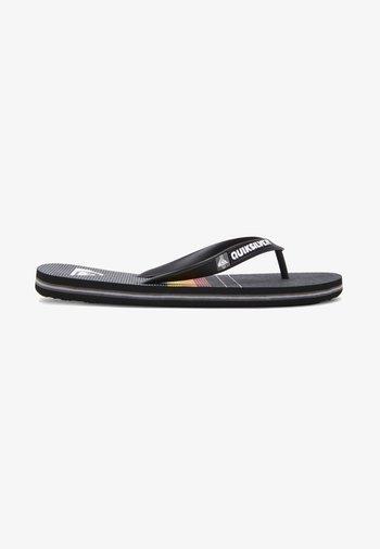 Pool shoes - black/grey/black