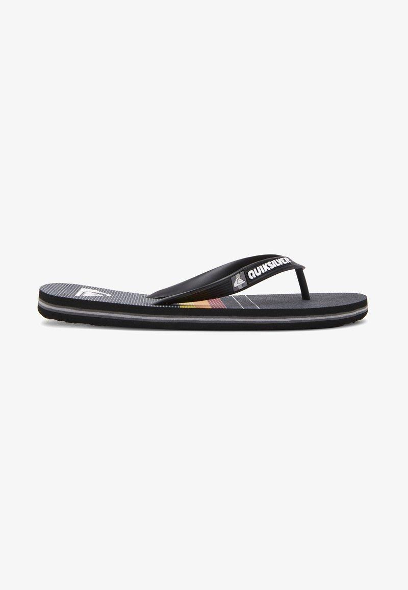 Quiksilver - Pool shoes - black/grey/black
