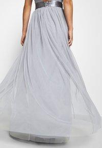 TFNC - ULA - Společenské šaty - grey blue - 6