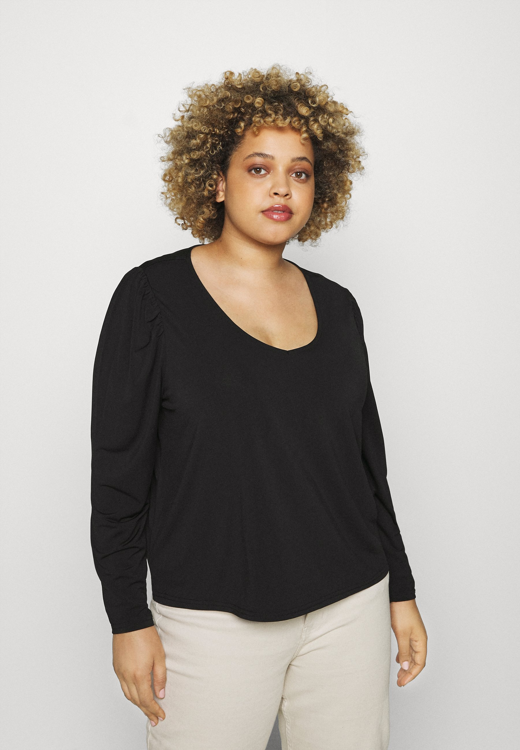 Women VIEBONI CURVE - Long sleeved top