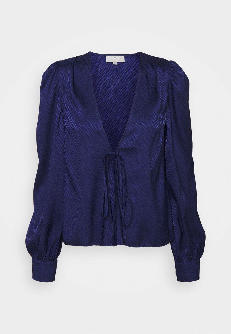 Never Fully Dressed - BLUE KASIA - Blouse - blue