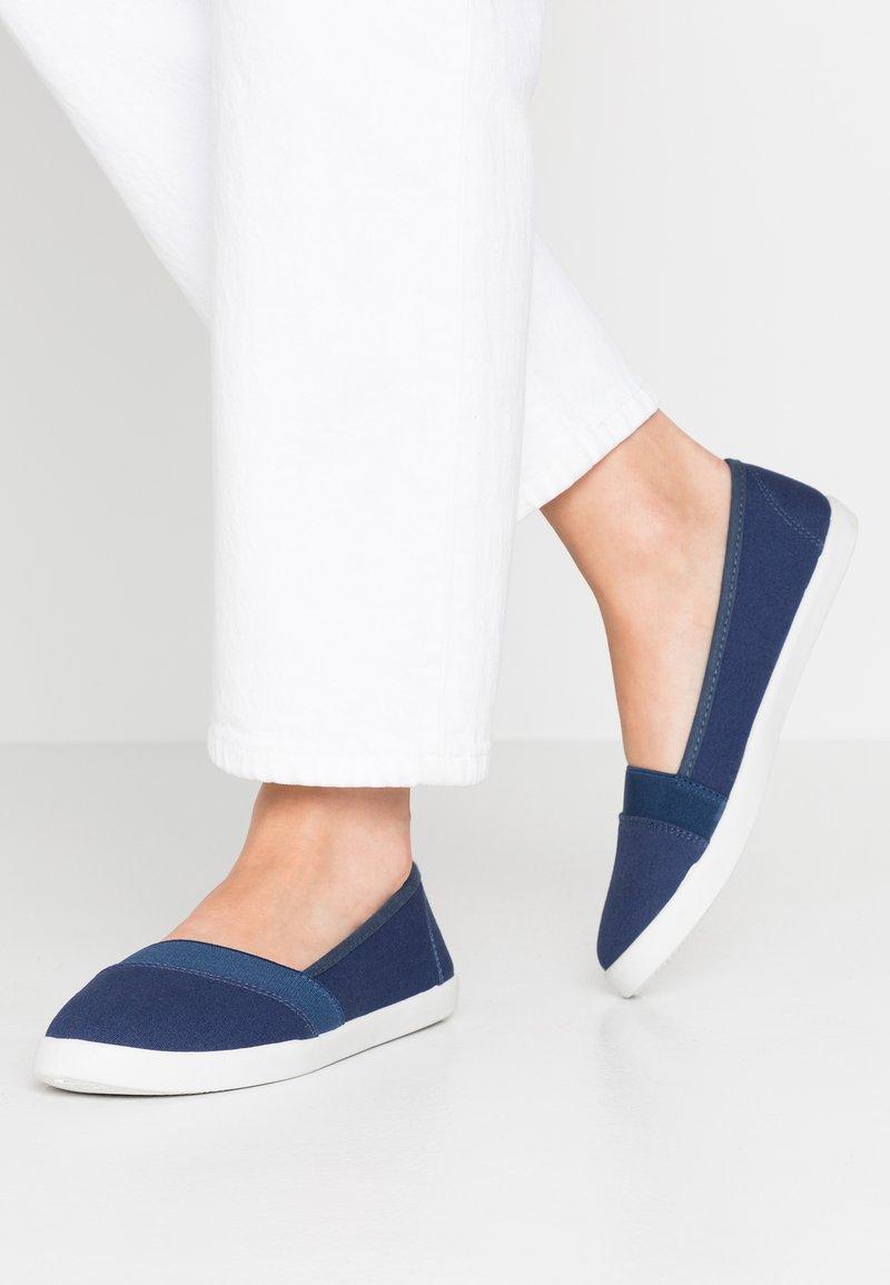 Anna Field - Loaferit/pistokkaat - dark blue